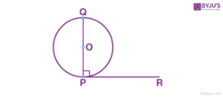 Circle with Tangent PR