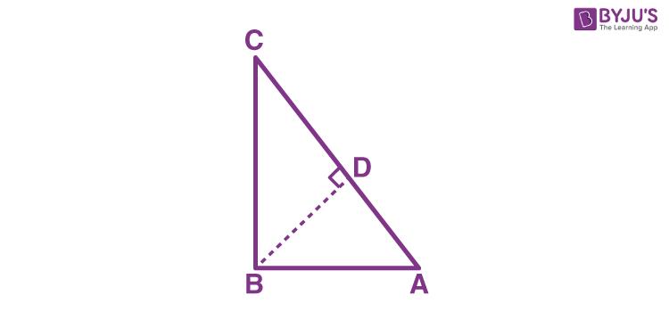 Proof for Pythagoras theorem
