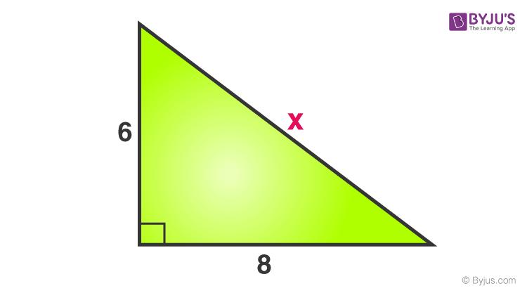 Pythagoras theorem example