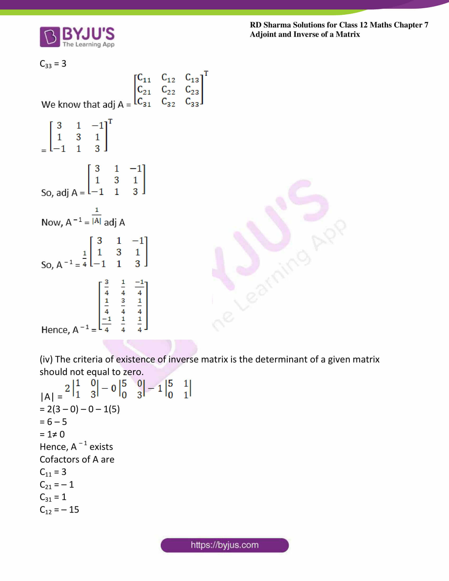 RD Sharma Class 12 Maths Chapter 7 Exercise 1 24