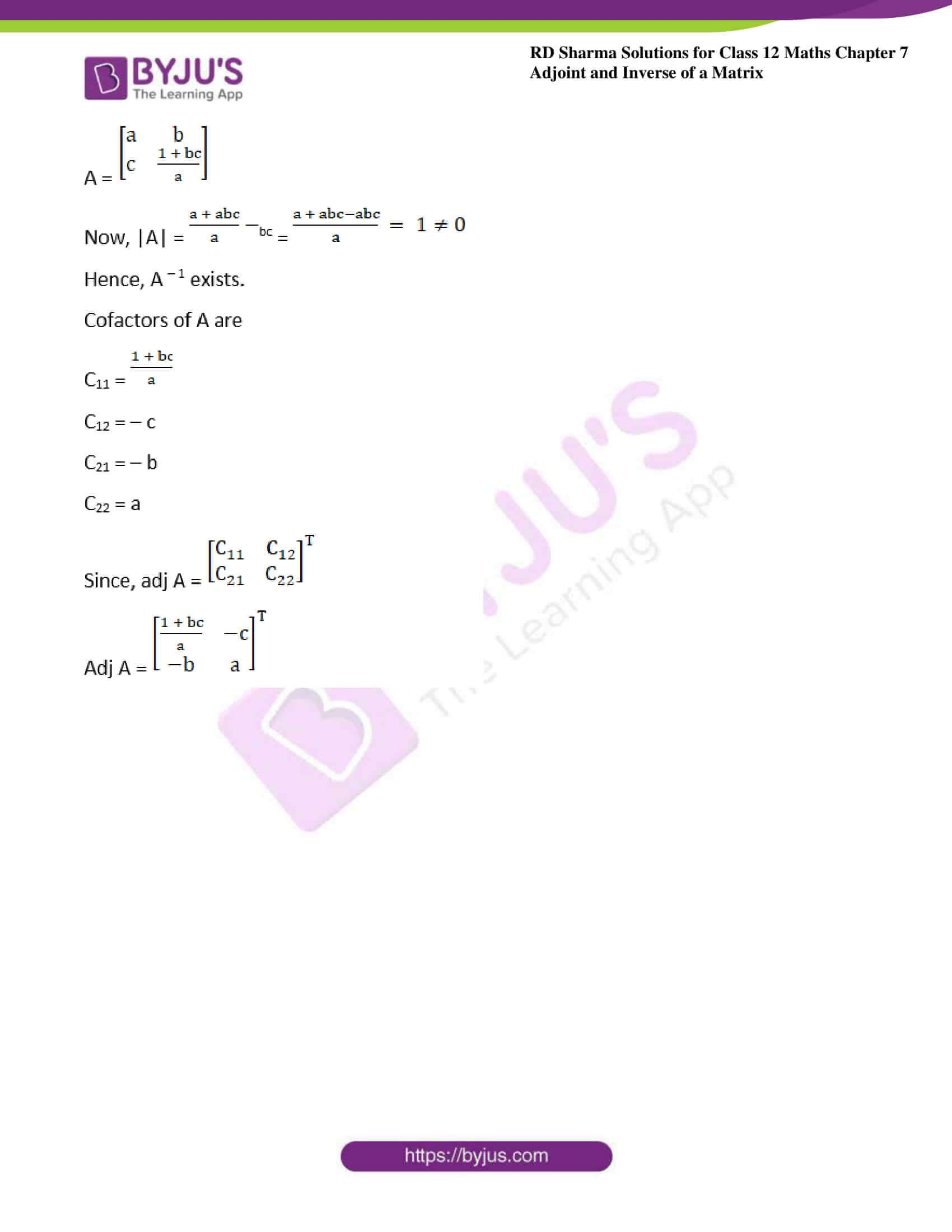 RD Sharma Class 12 Maths Chapter 7 Exercise 1 37