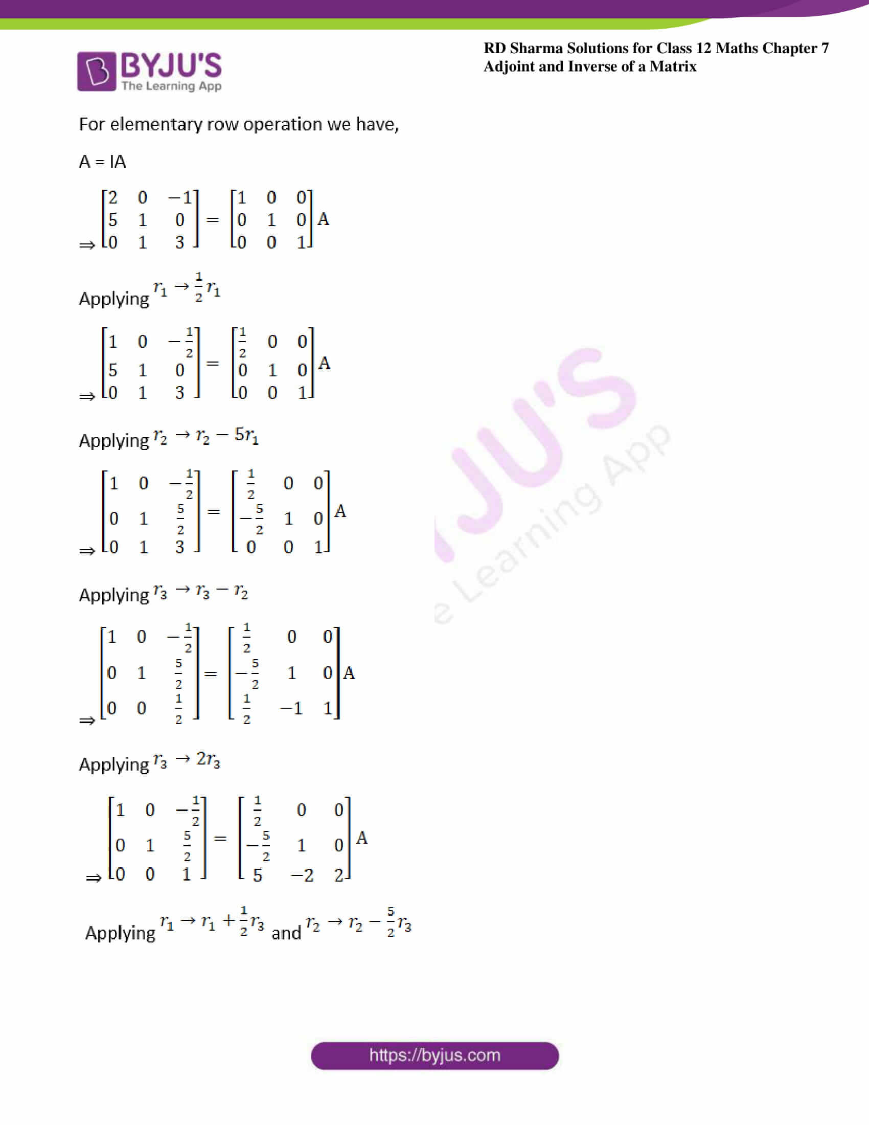 RD Sharma Class 12 Maths Chapter 7 Exercise 2 08