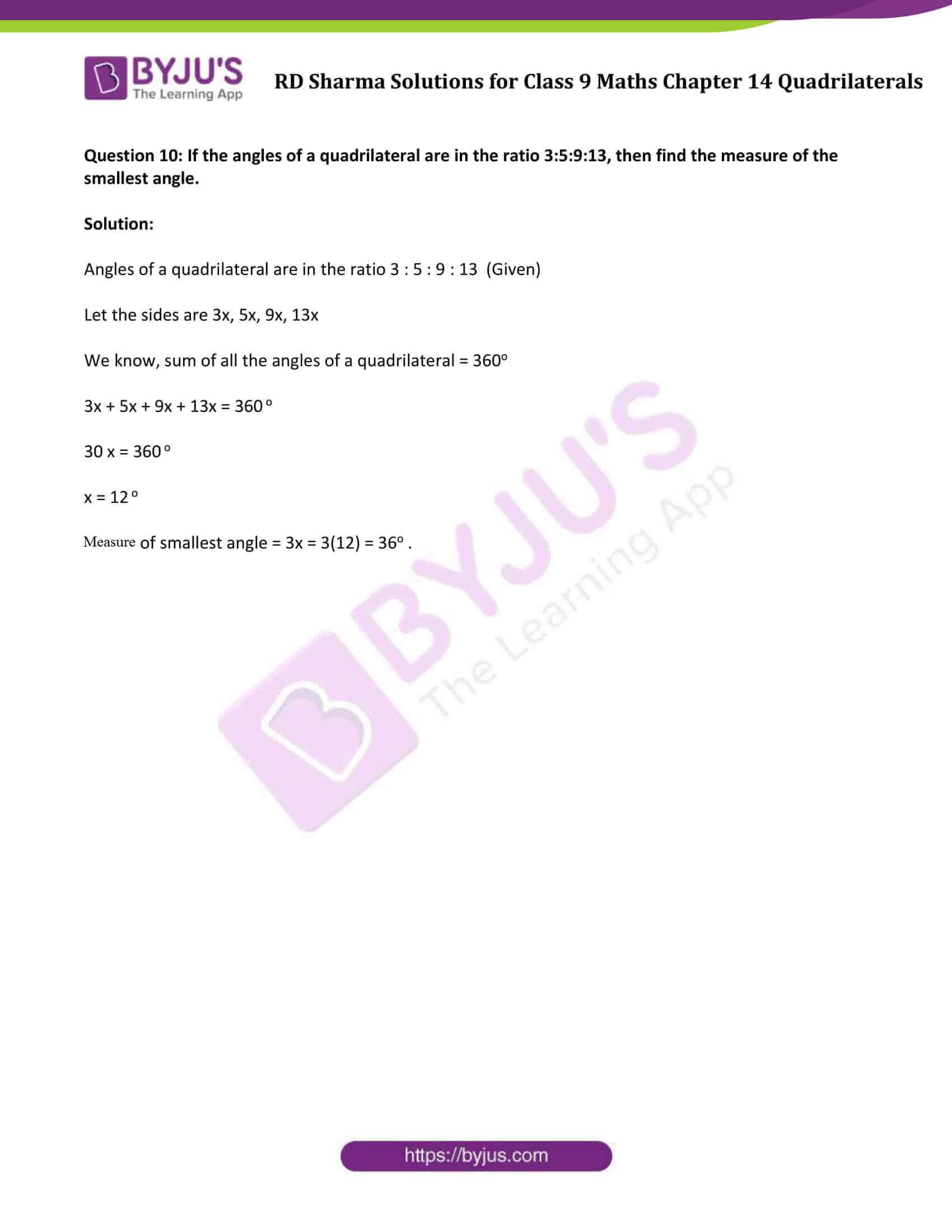 rd sharma class 9 maths chapter 14vsa