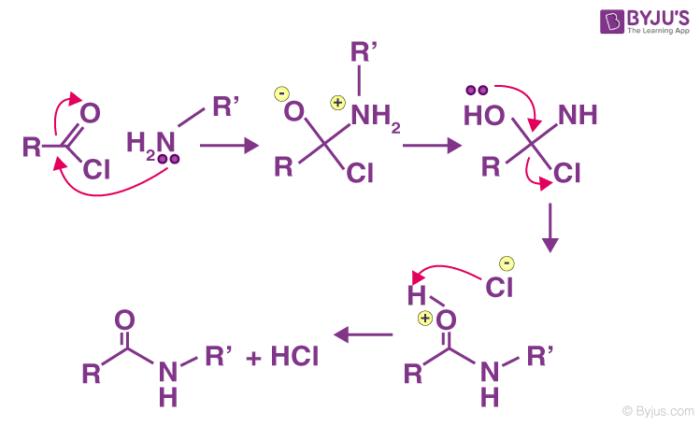 Schotten Baumann Reaction Mechanism