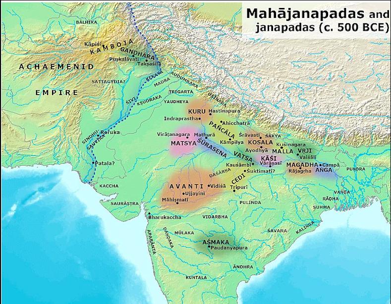 Mahajanapadas - 600 BCE