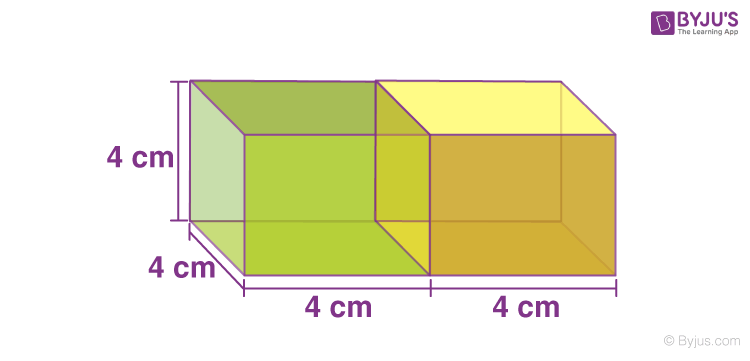 Surface area of combined figures