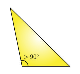 Obtuse Angle Triangle