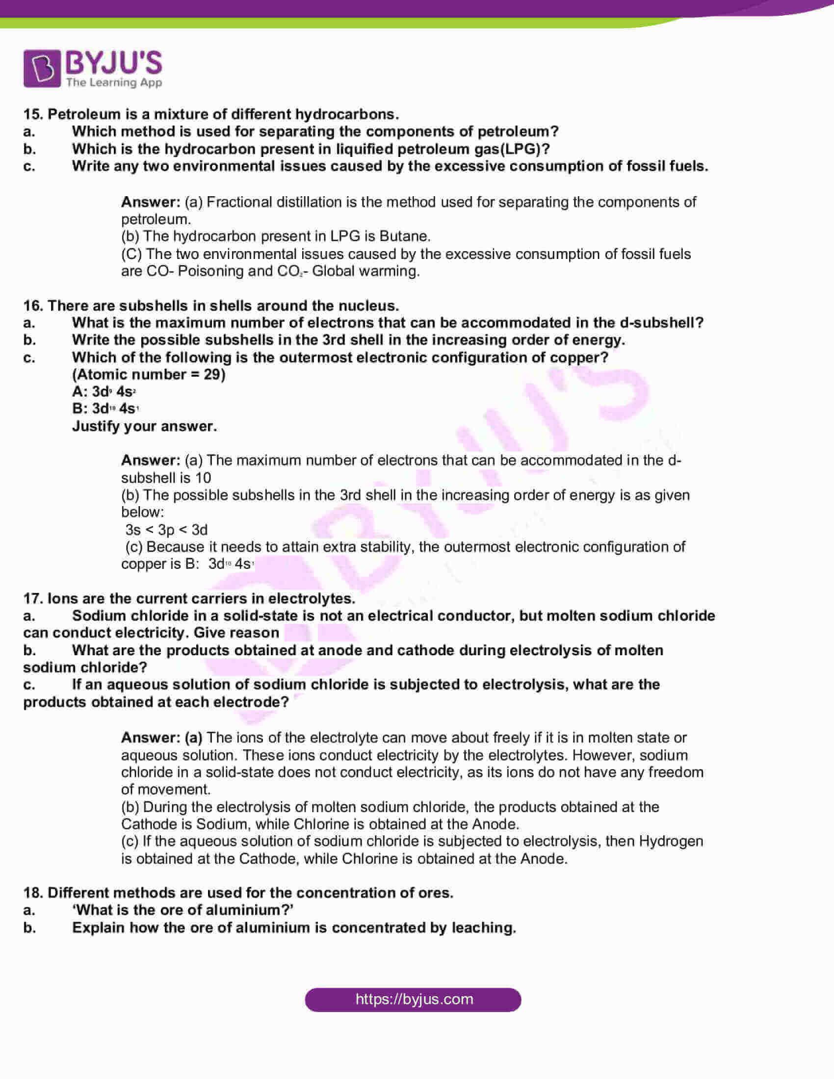 kbpe class 10 chemistry 2018 solutions 4