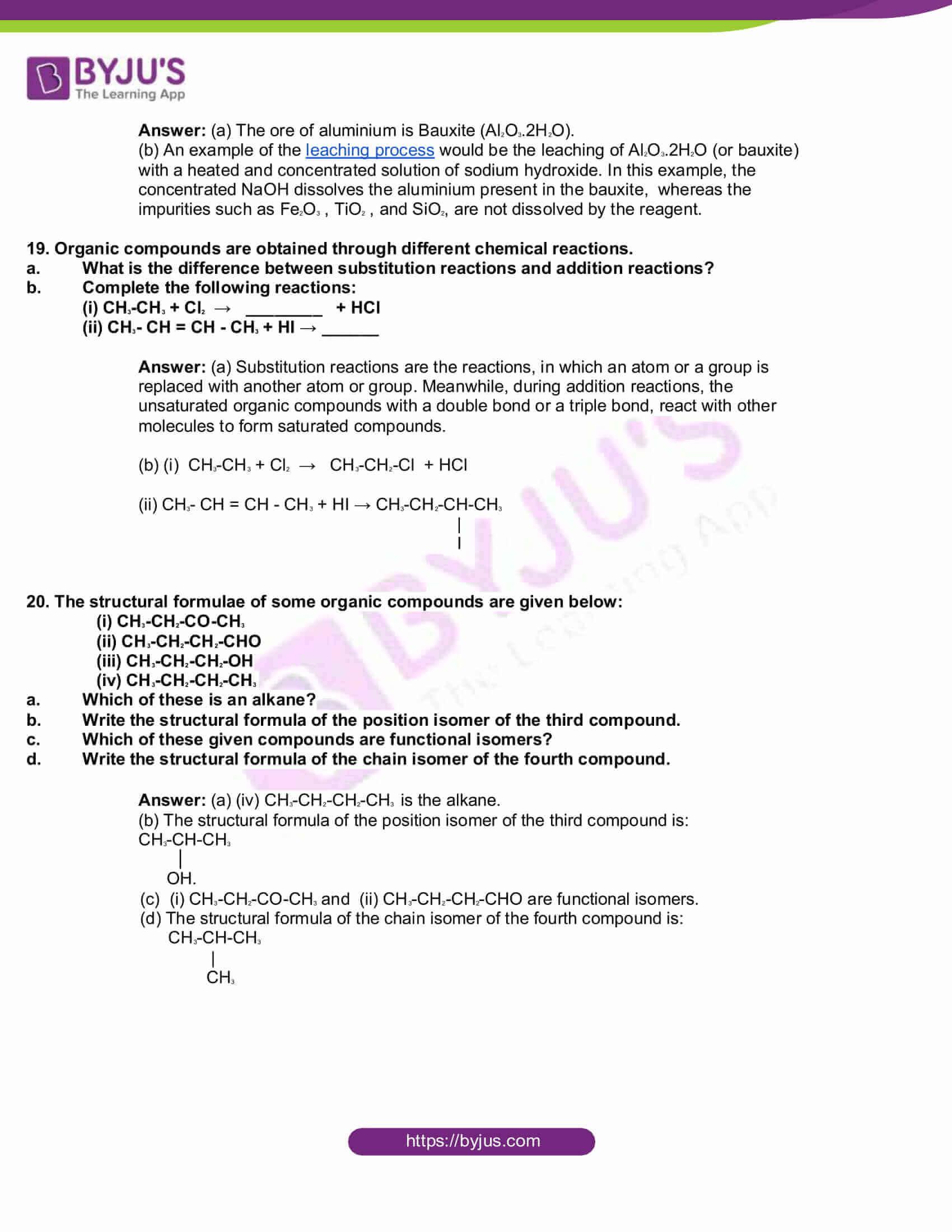kbpe class 10 chemistry 2018 solutions 5
