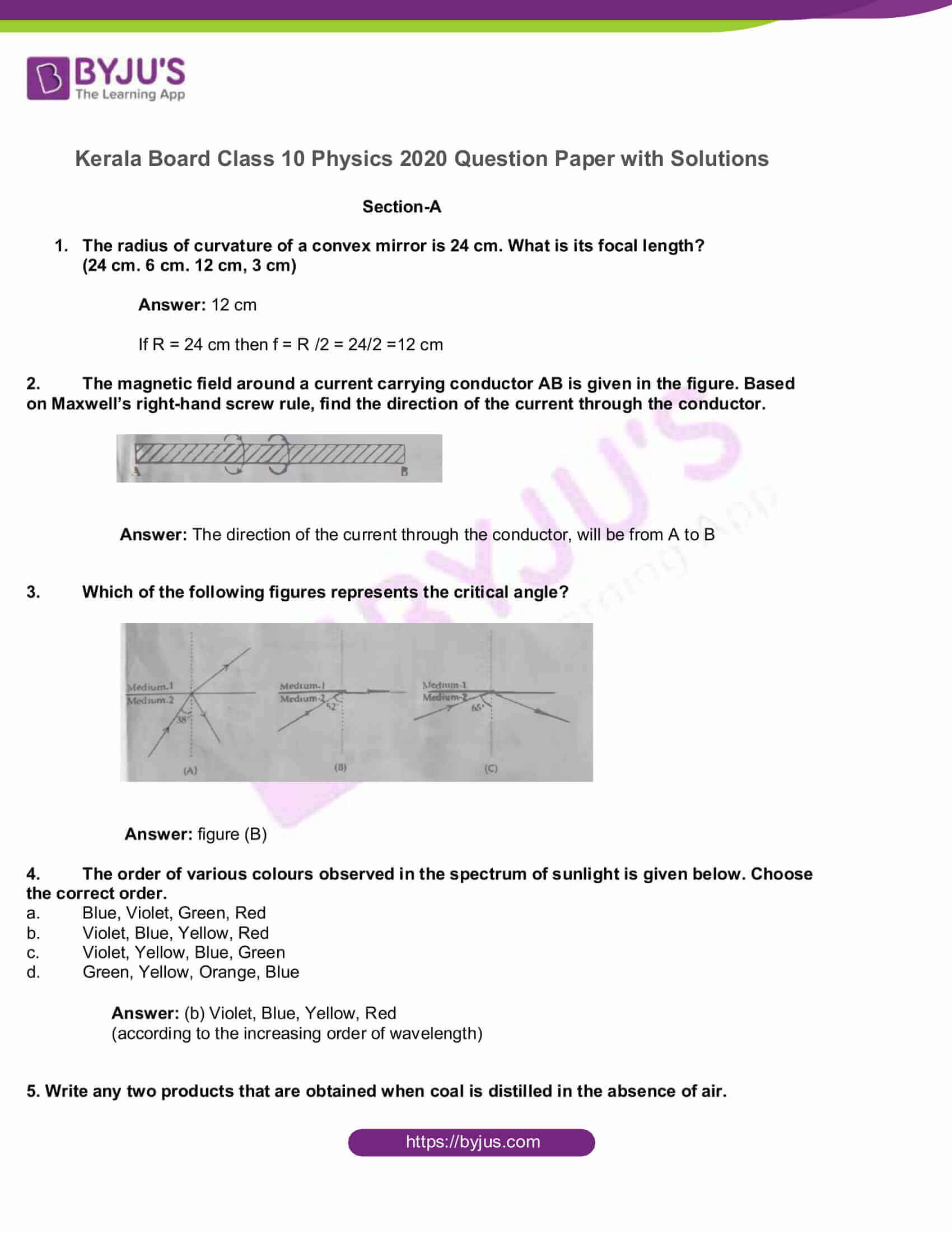 kbpe class 10 physics 2020 solutions 1