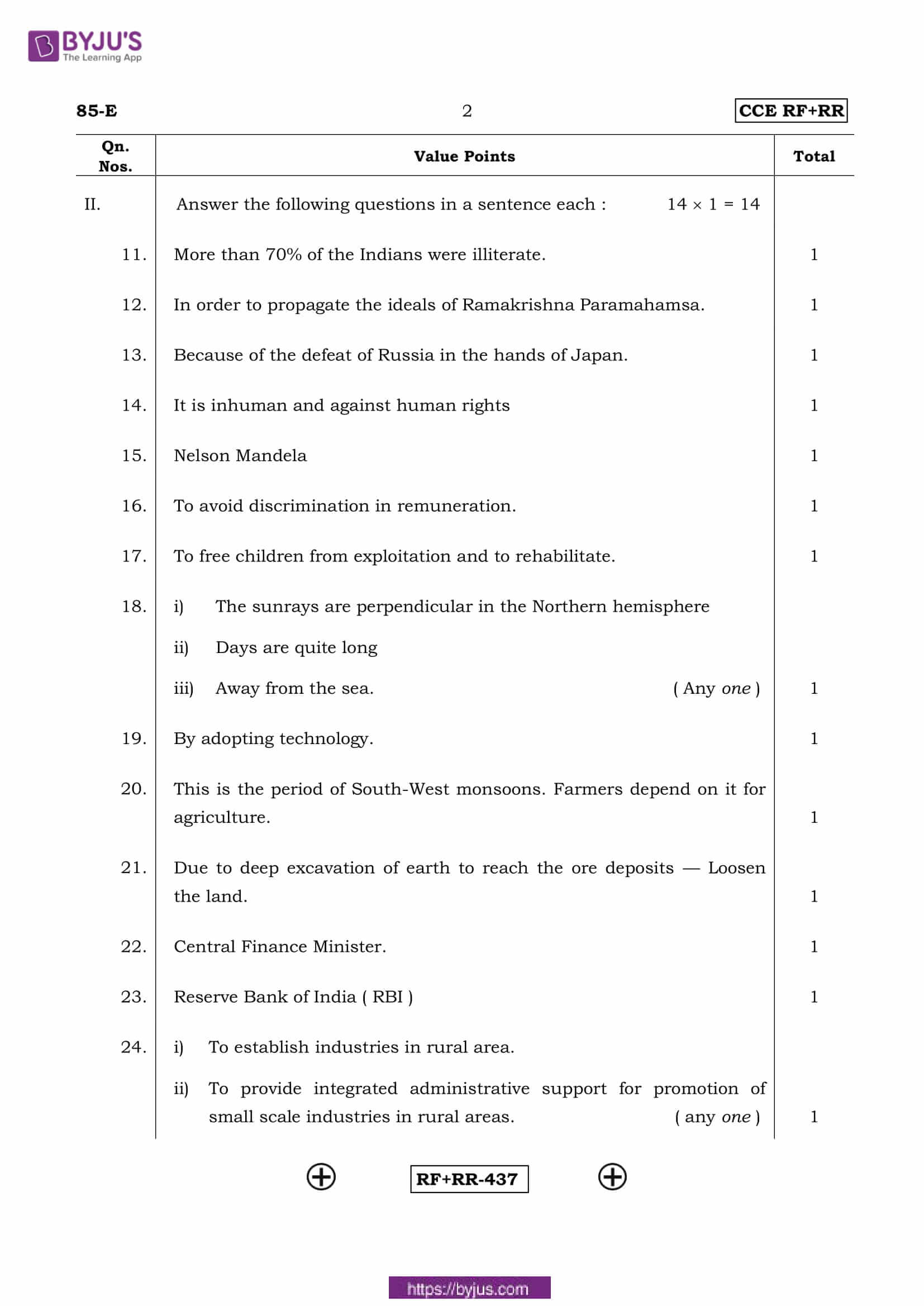 kseeb class 10 previous year social science solutions 2016 02