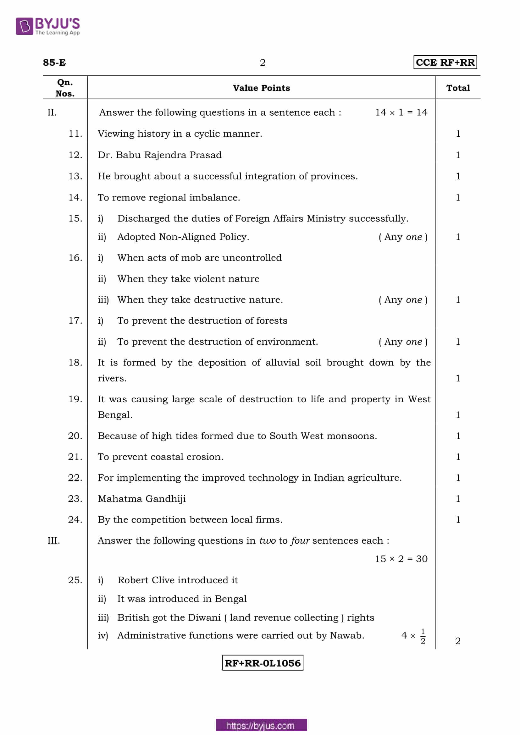 kseeb class 10 previous year social science solutions 2017 02