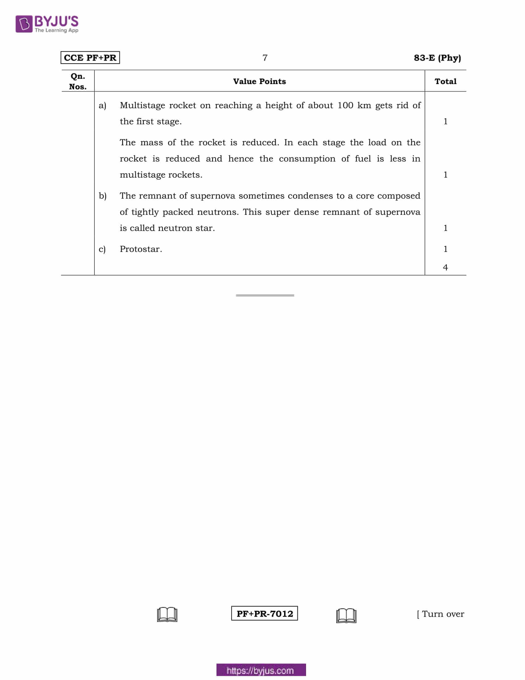 kseeb class 10 previous year solutions for science 2016 7