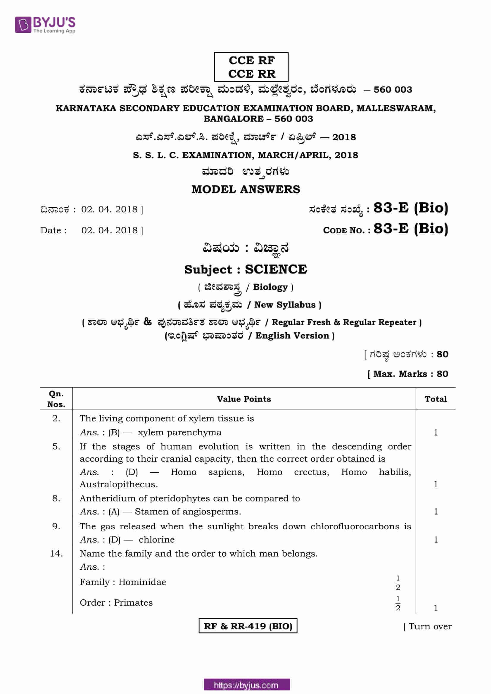 kseeb class 10 previous year solutions for science 2018 01