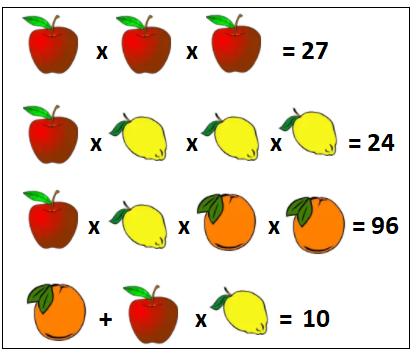 Maths puzzles example 2 solution