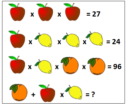 Maths puzzles example 2