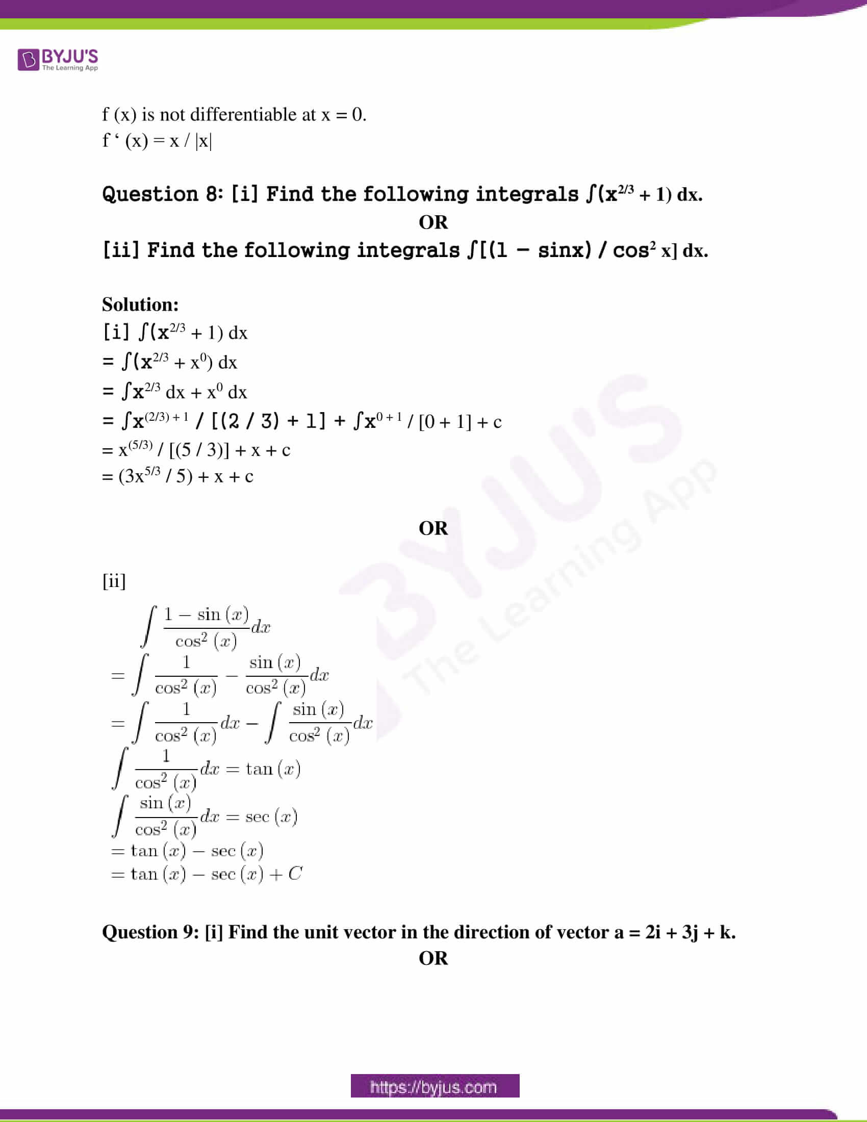 mp board class 12 questions and answers maths 2019 10