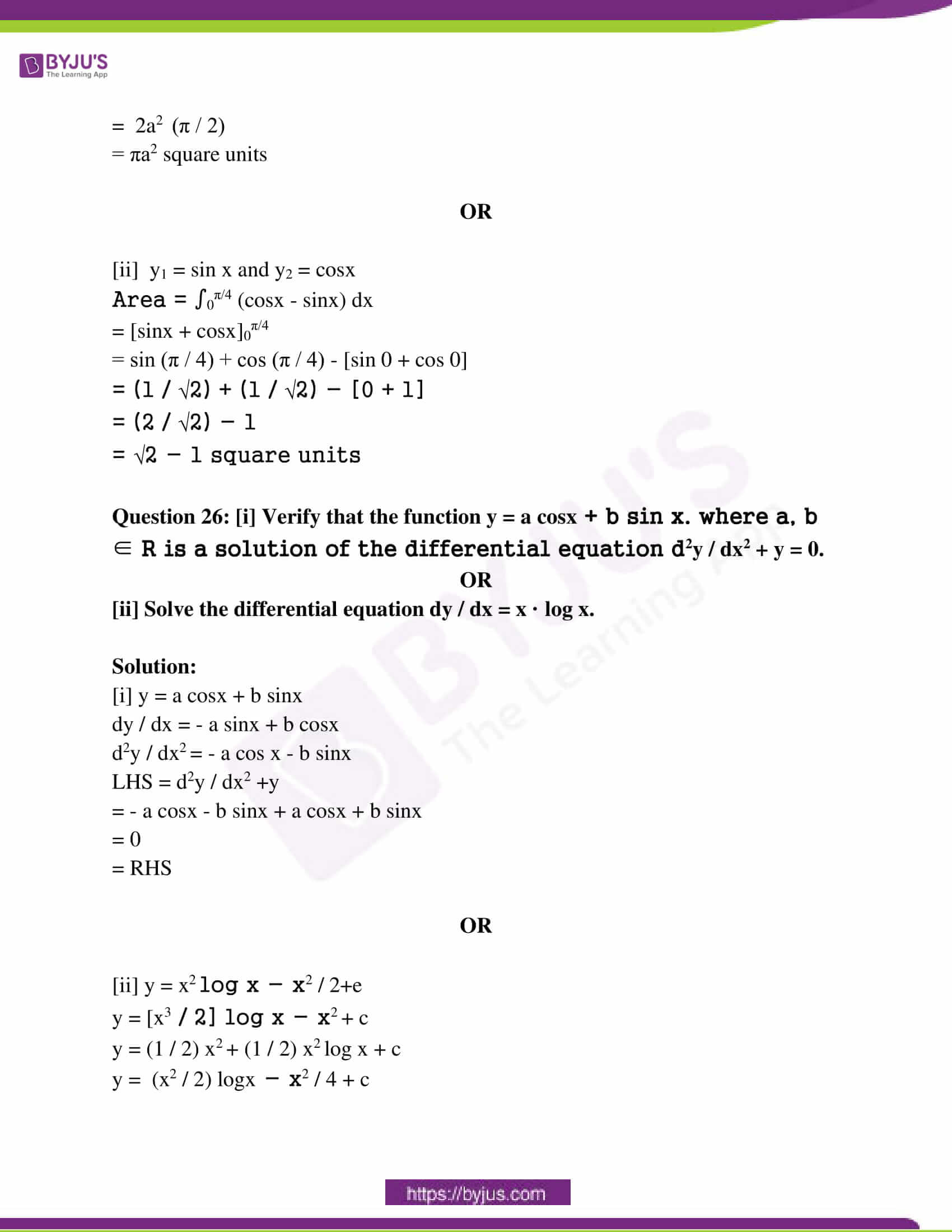 mp board class 12 questions and answers maths 2019 30