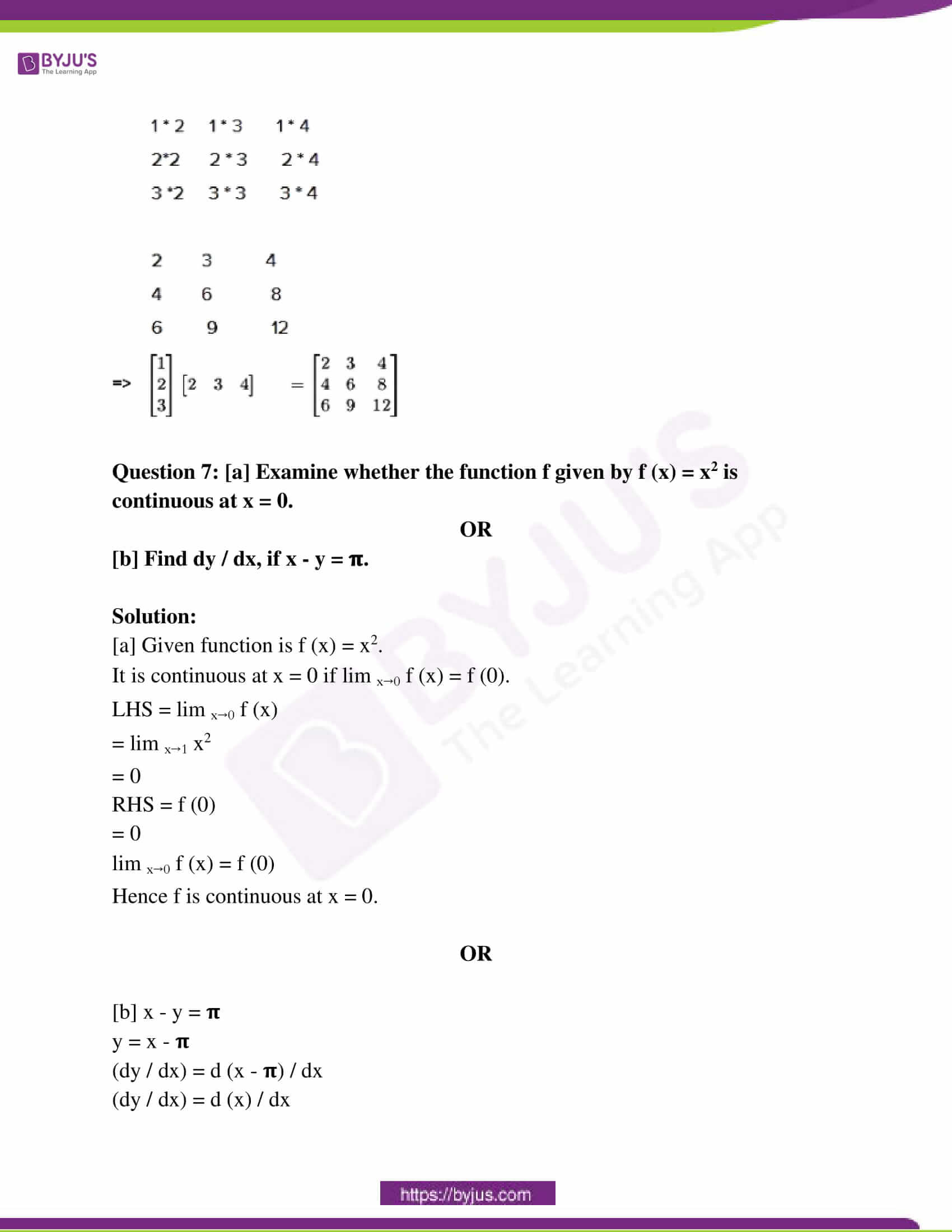 mp board class 12 questions and answers maths 2020 09