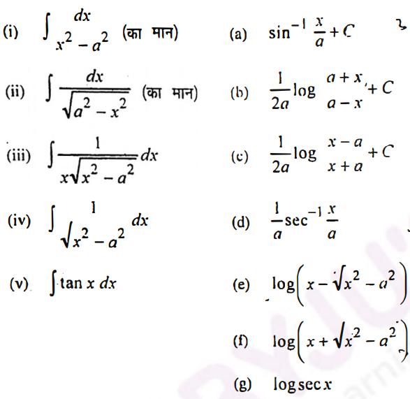 MPBSE Class 12 Maths 2019 QP Solutions Q4