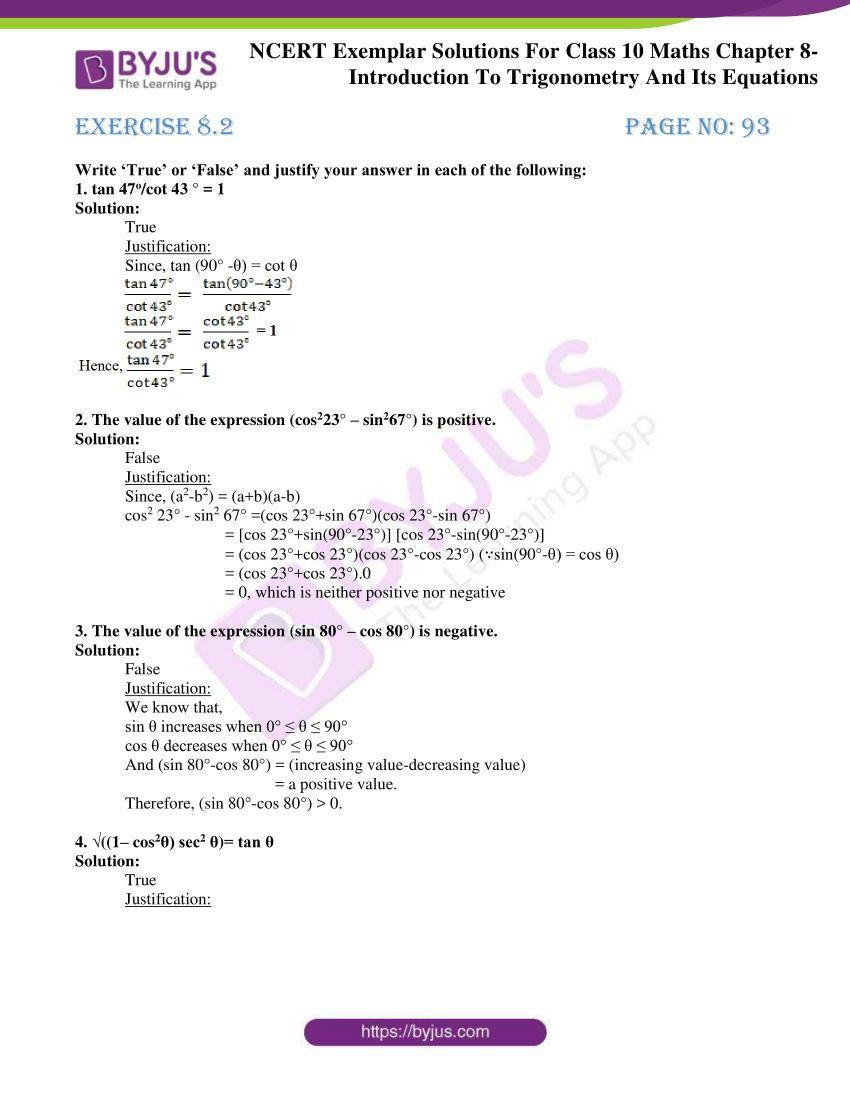 ncert exemplar solution for class 10 maths chapter 8