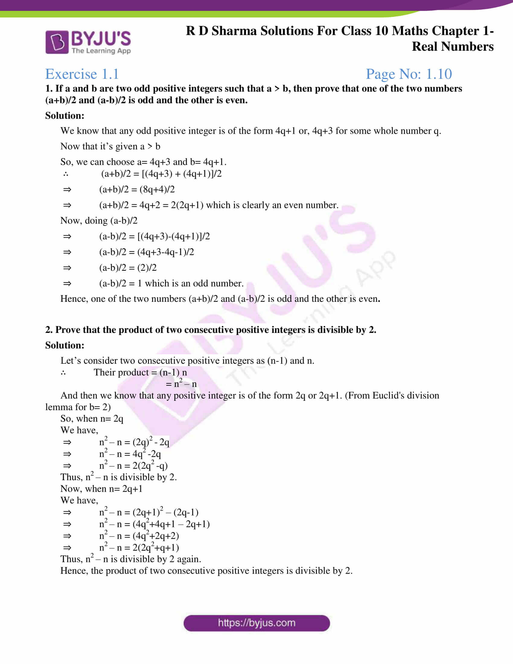 rd sharma class 10 chapter 1 real numbers solutions exercise 1 01