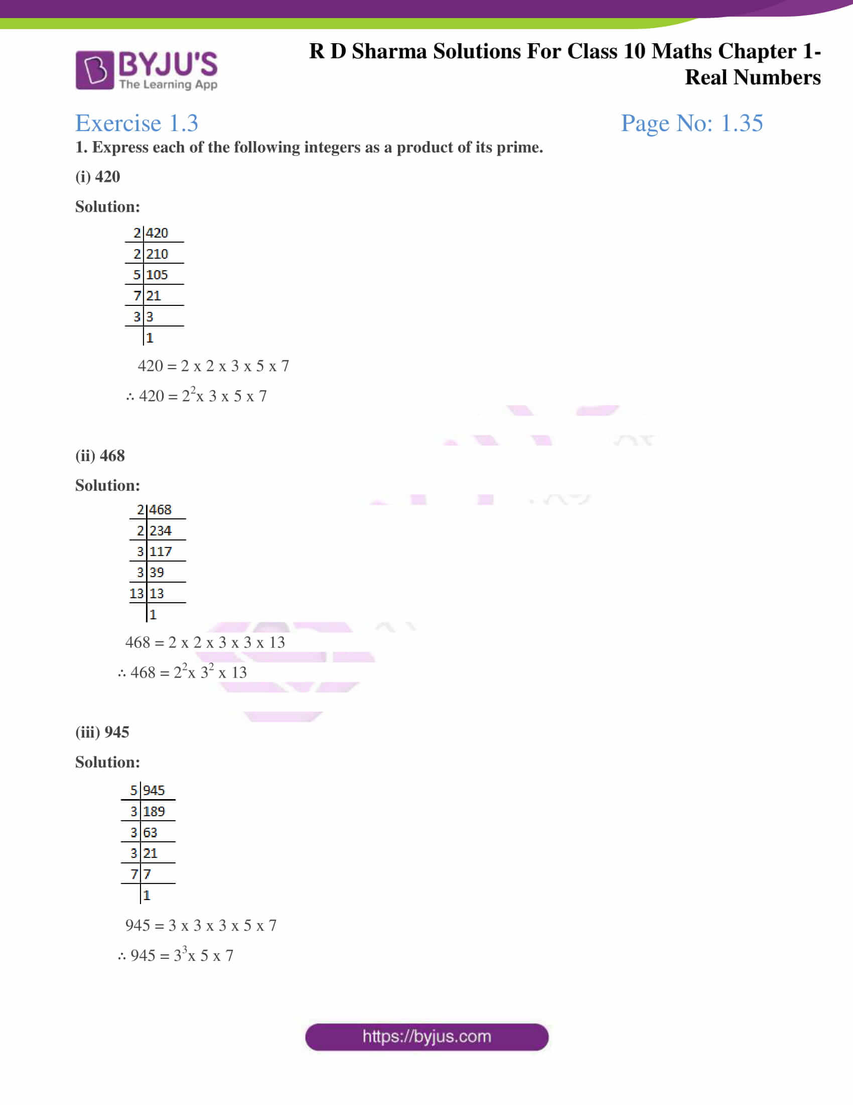 rd sharma class 10 chapter 1 real numbers solutions exercise 3 1