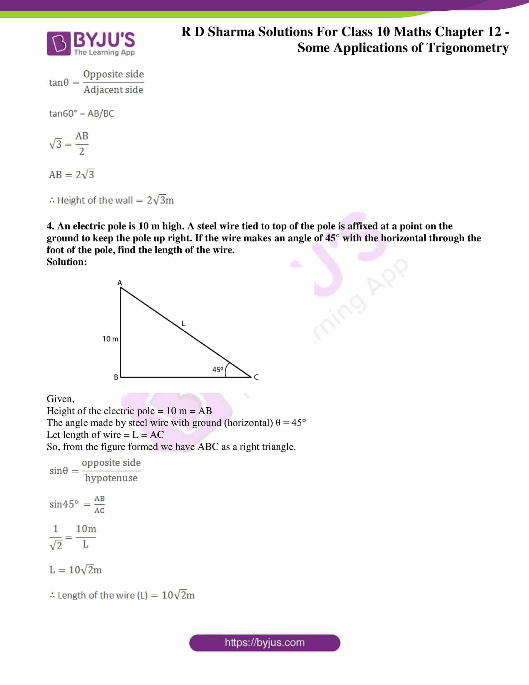 rd sharma class 10 chapter 12 applications trigonometry solutions 03