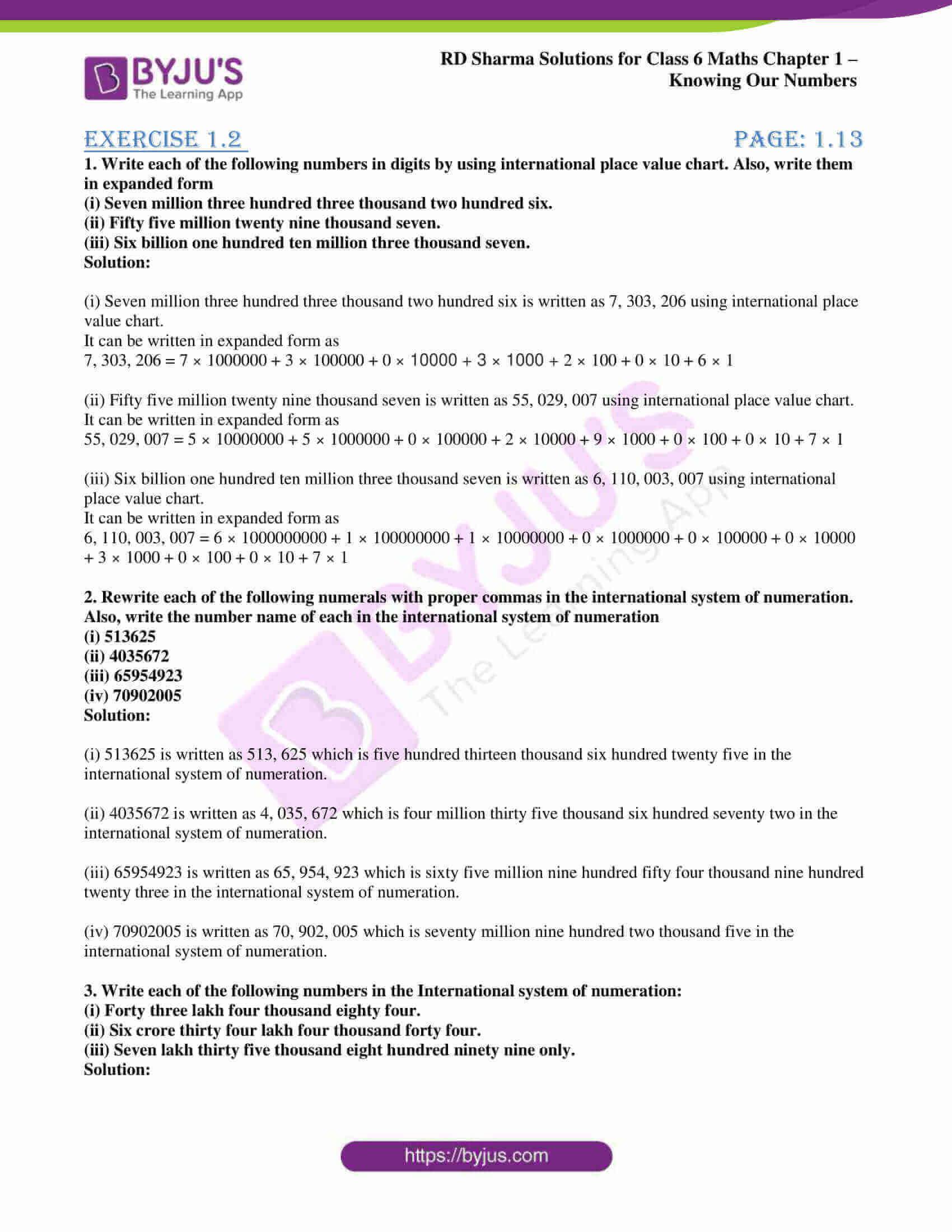 rd sharma class 6 maths solutions chapter 1 ex 2 1
