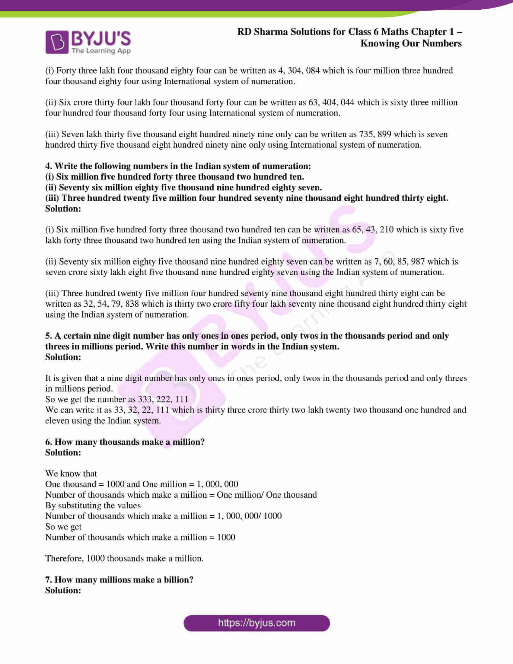 rd sharma class 6 maths solutions chapter 1 ex 2 2