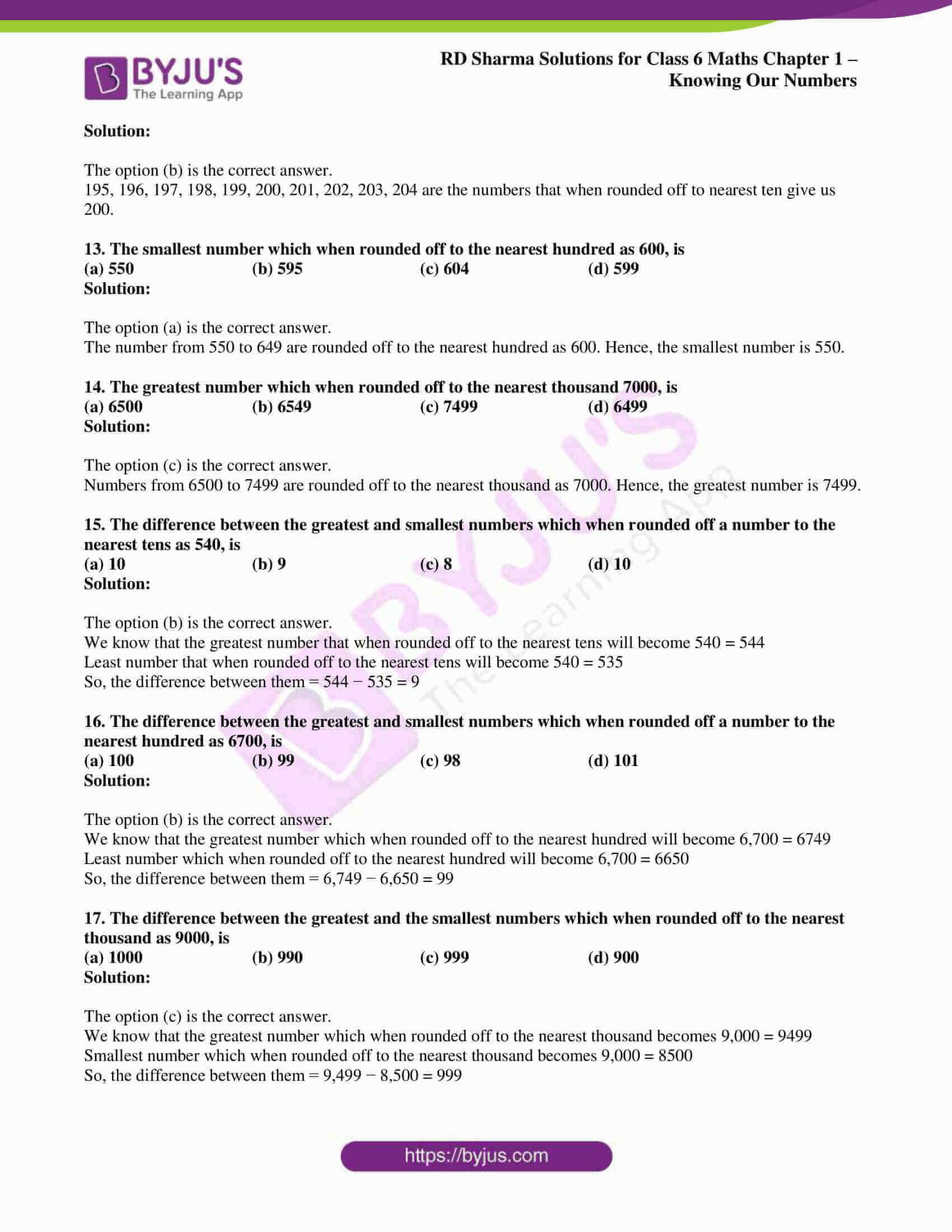 rd sharma class 6 maths solutions chapter 1 obj 3