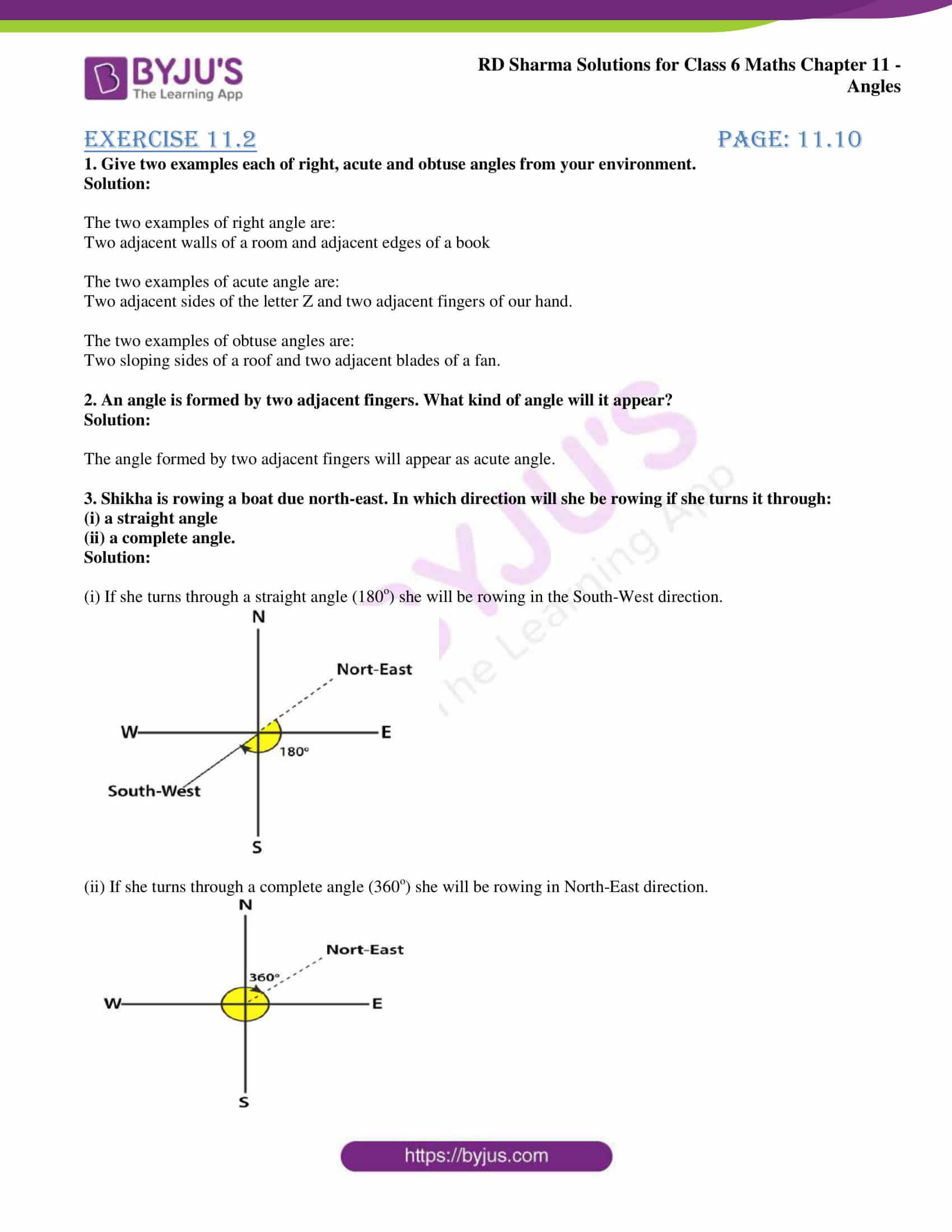 rd sharma class 6 maths solutions chapter 11 ex 2 1