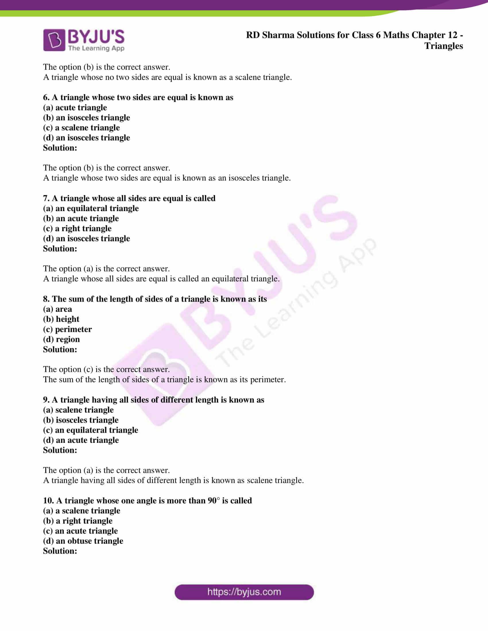 rd sharma class 6 maths solutions chapter 12 obj 2