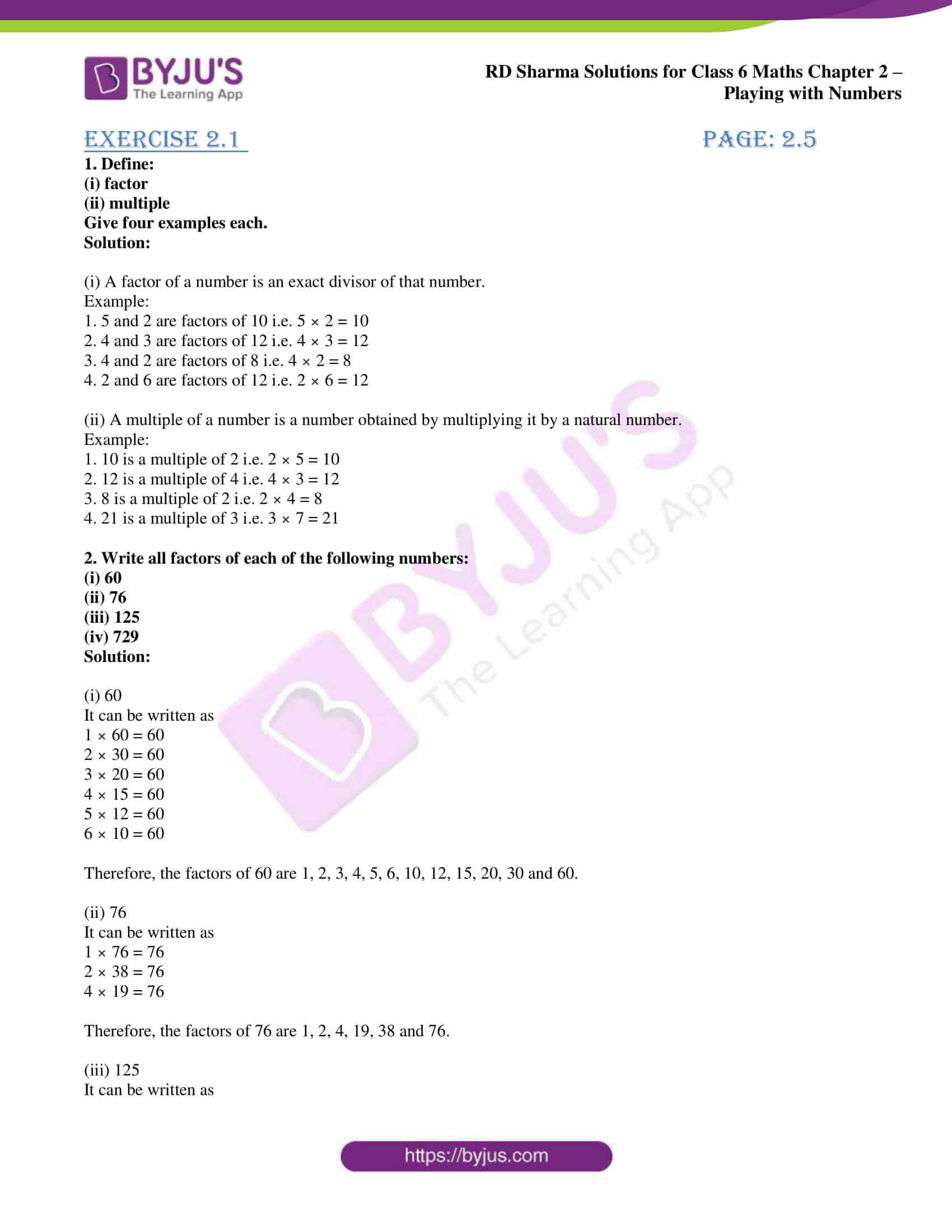 rd sharma class 6 maths solutions chapter 2 ex 1 1