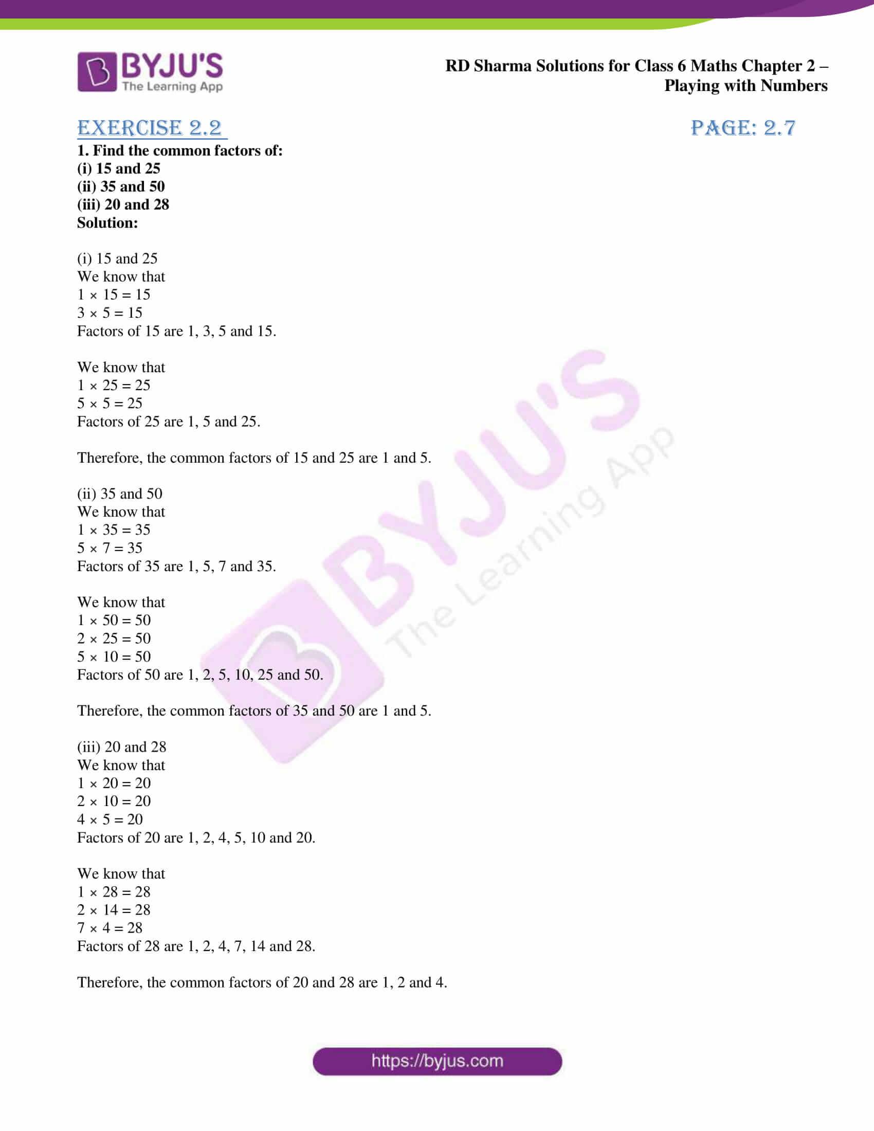 rd sharma class 6 maths solutions chapter 2 ex 2 1