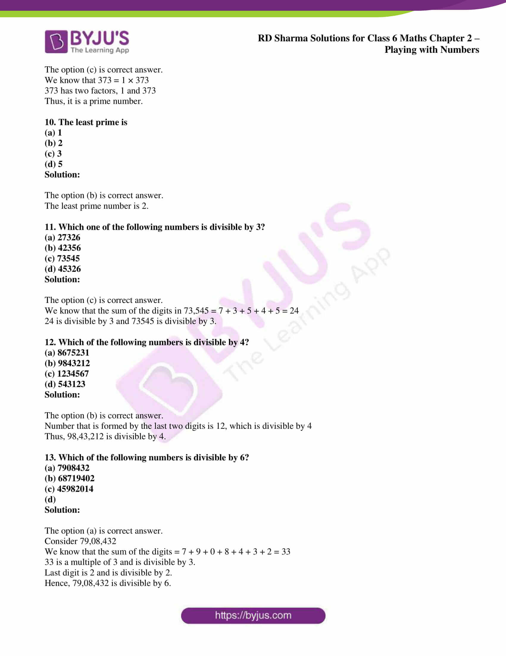 rd sharma class 6 maths solutions chapter 2 obj 3