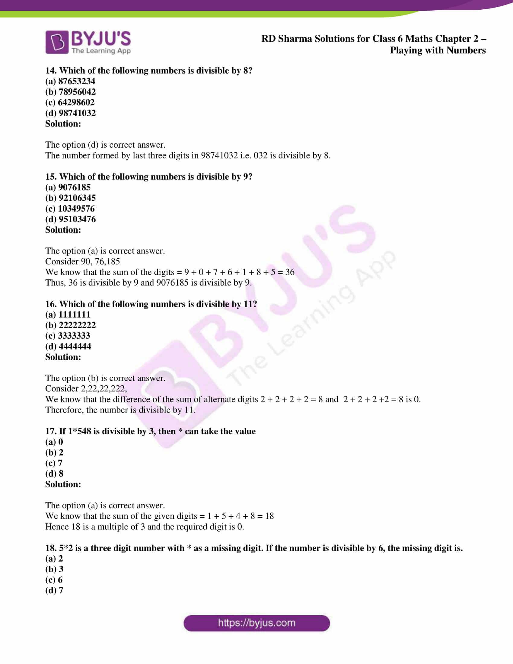 rd sharma class 6 maths solutions chapter 2 obj 4