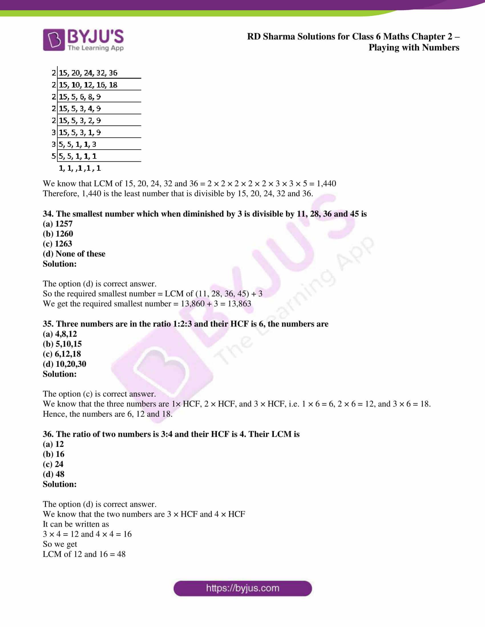 rd sharma class 6 maths solutions chapter 2 obj 9