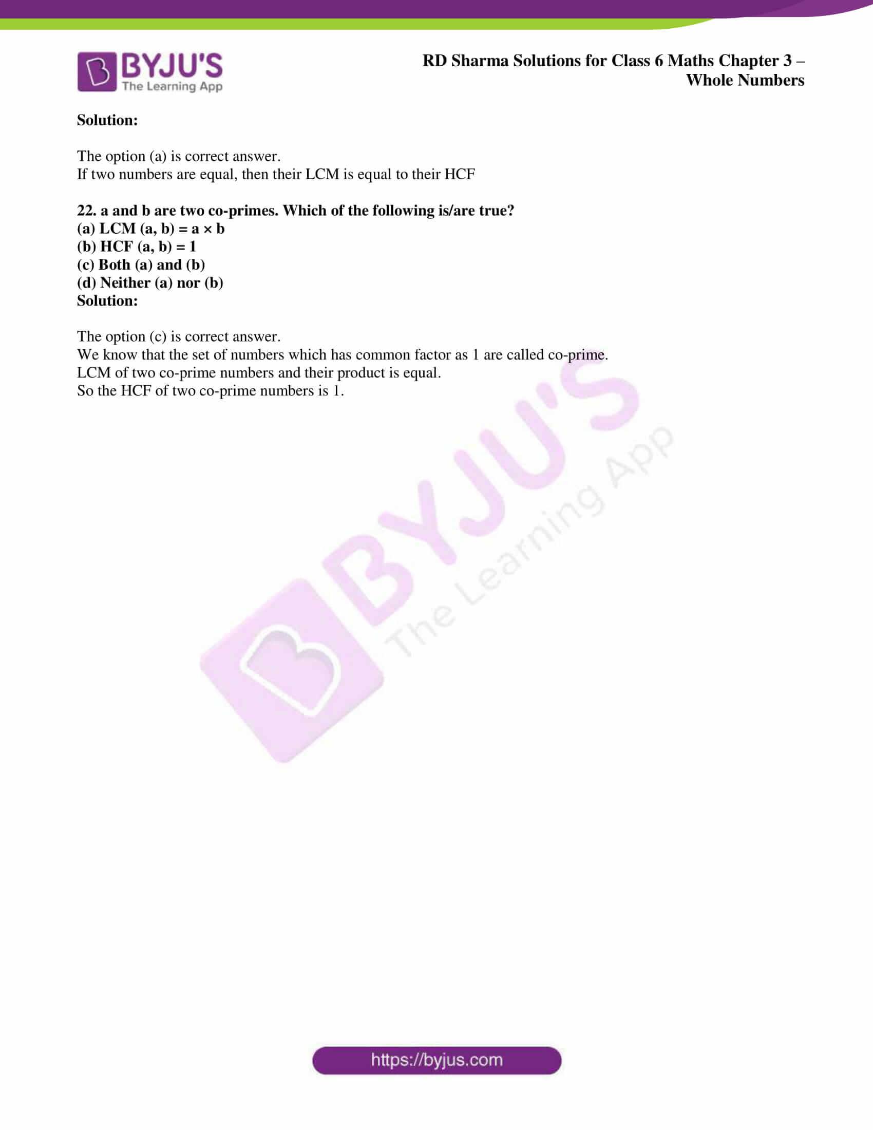 rd sharma class 6 maths solutions chapter 3 obj 6