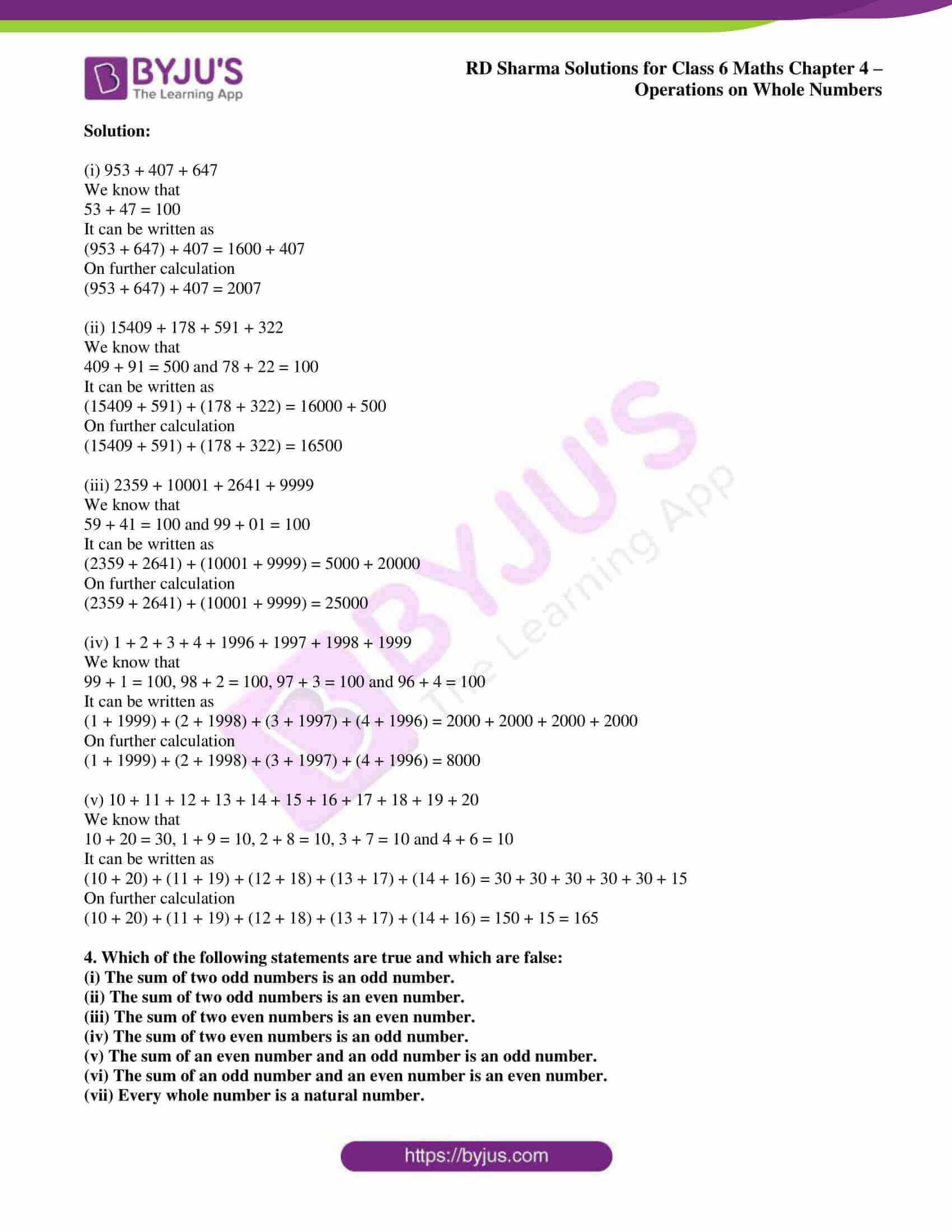rd sharma class 6 maths solutions chapter 4 ex 1 2