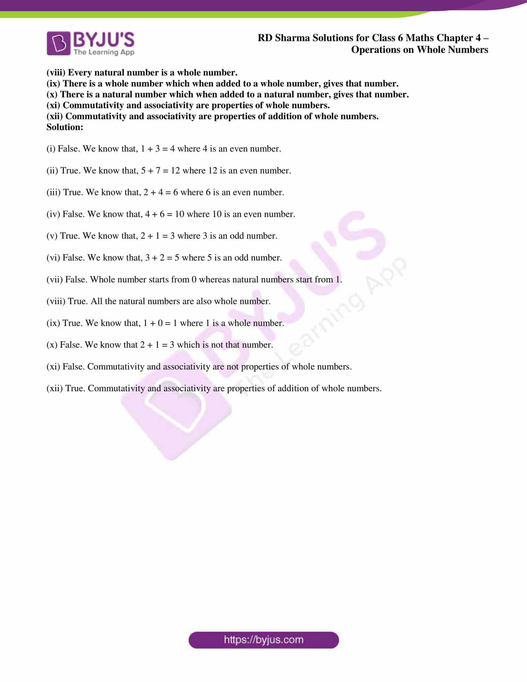 rd sharma class 6 maths solutions chapter 4 ex 1 3