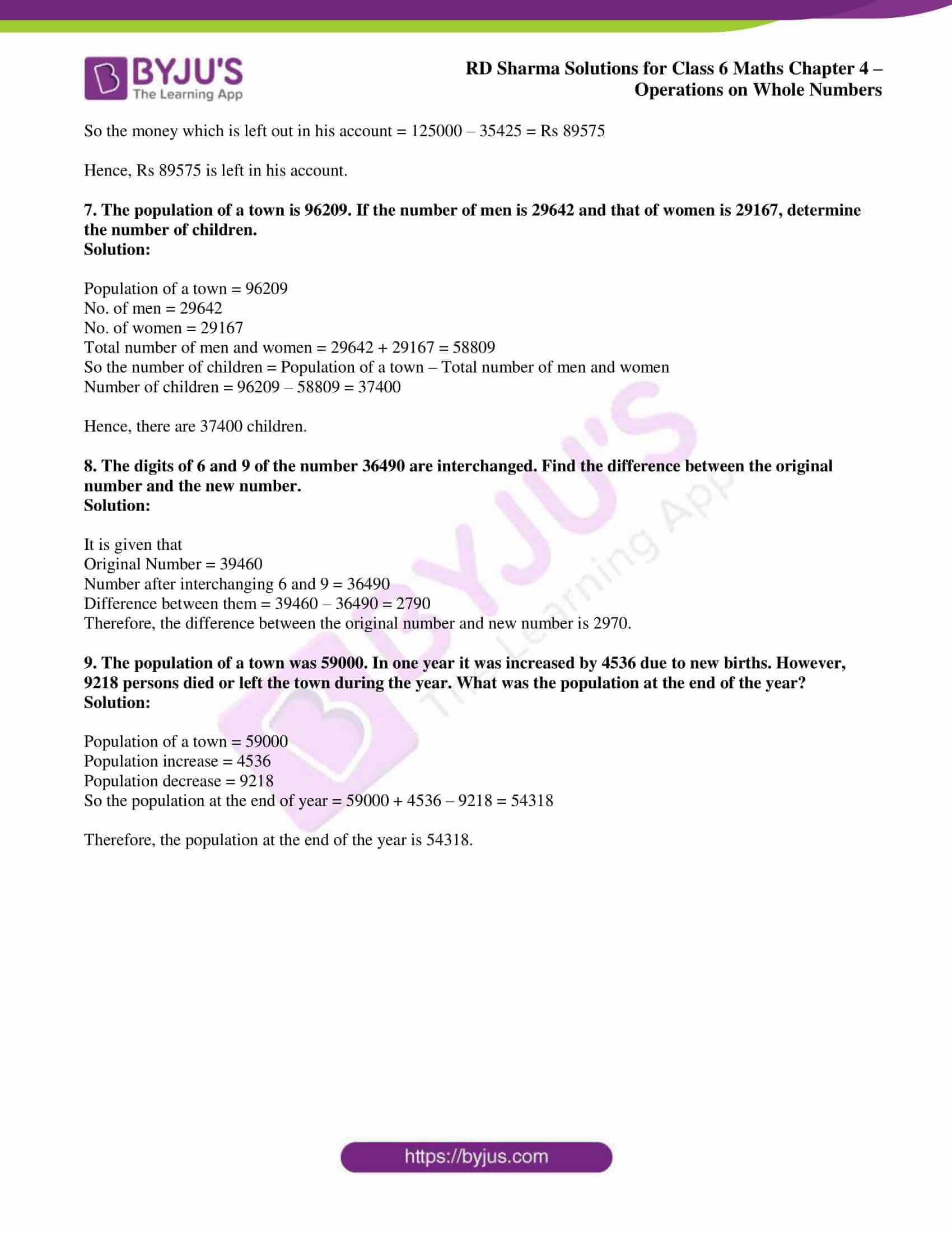 rd sharma class 6 maths solutions chapter 4 ex 2 6