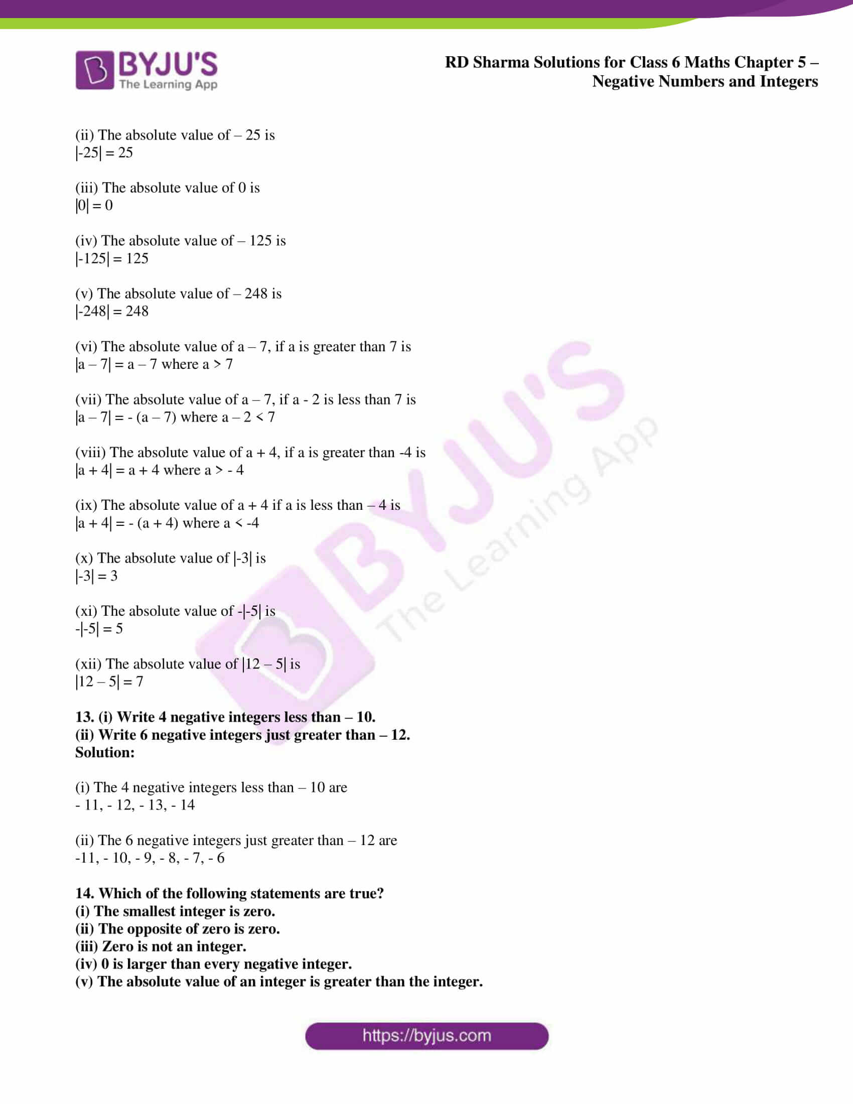 rd sharma class 6 maths solutions chapter 5 ex 1 6