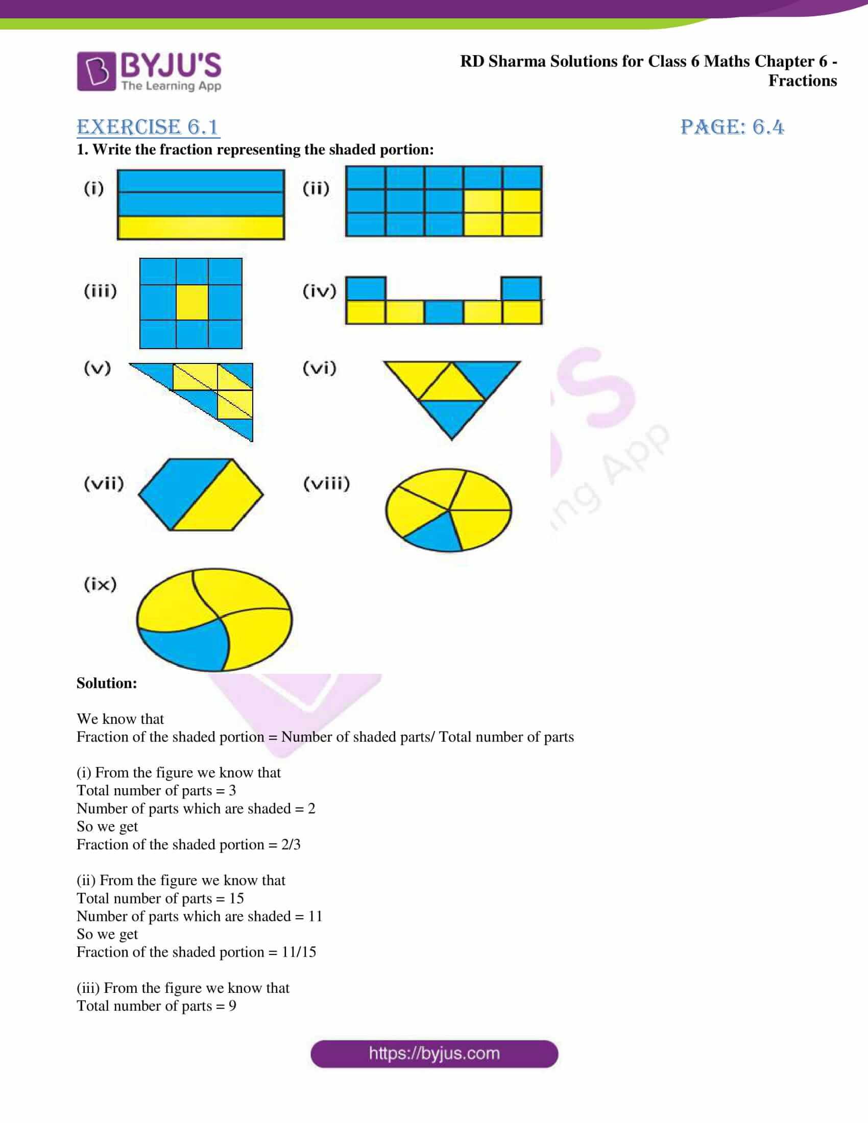 rd sharma class 6 maths solutions chapter 6 ex 1 1