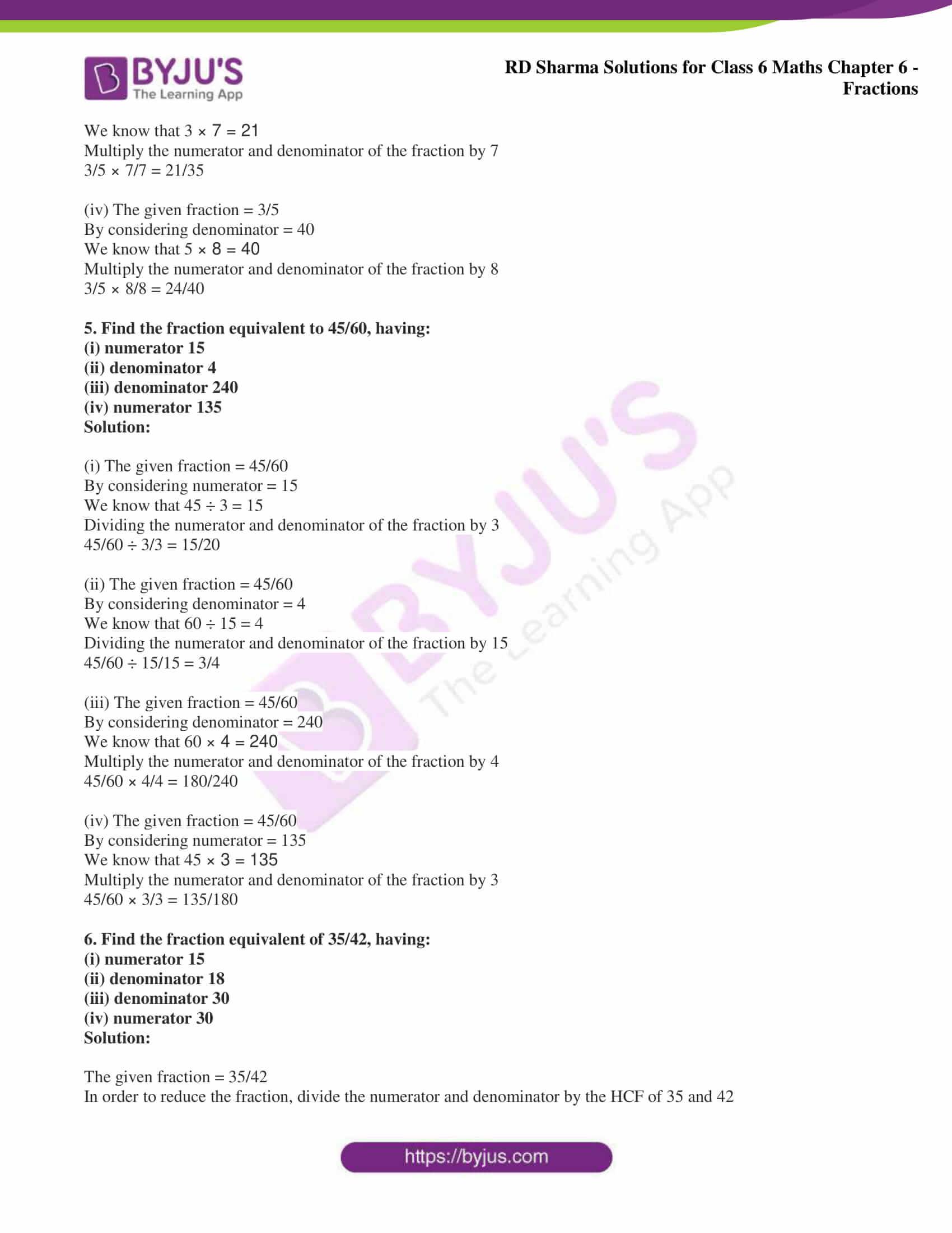 rd sharma class 6 maths solutions chapter 6 ex 5 3