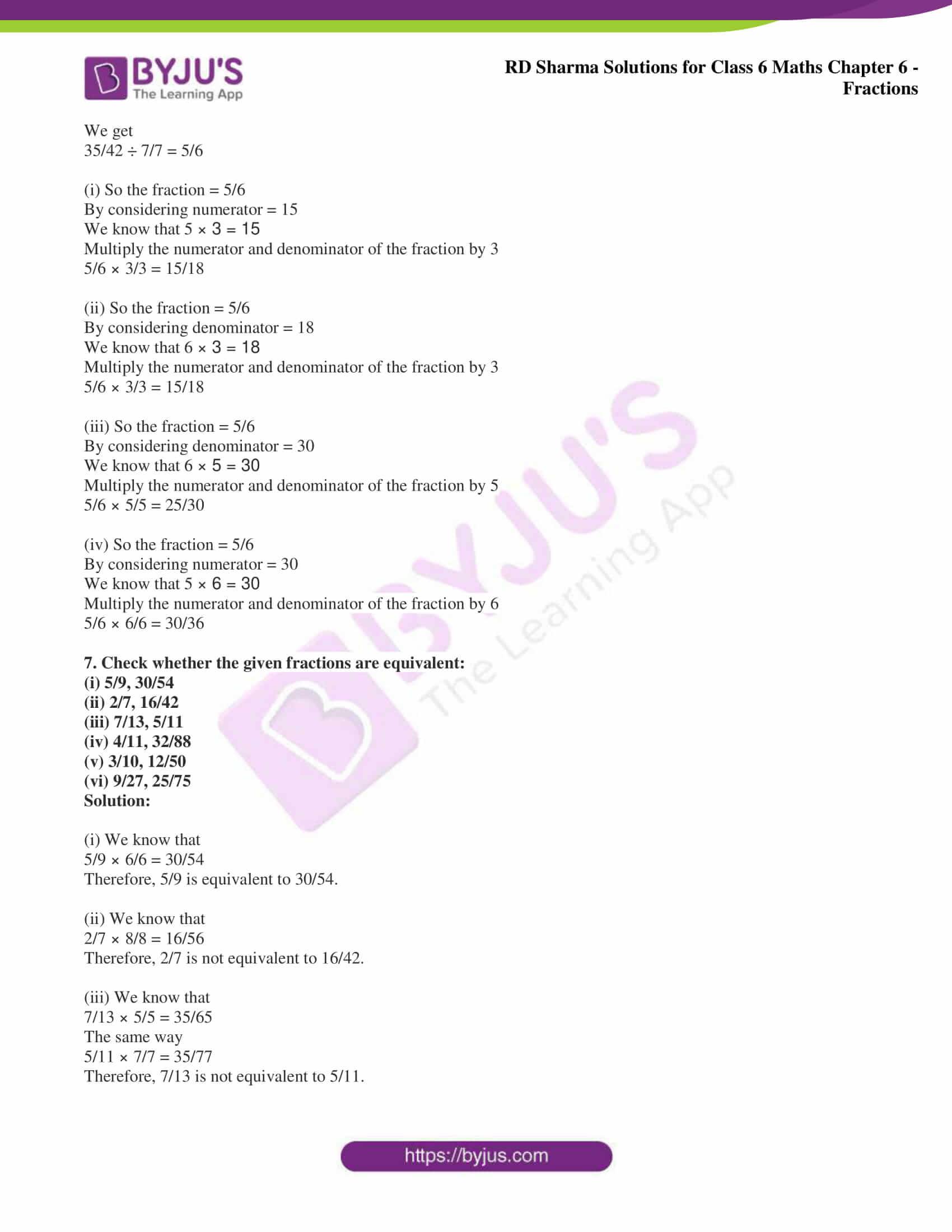 rd sharma class 6 maths solutions chapter 6 ex 5 4
