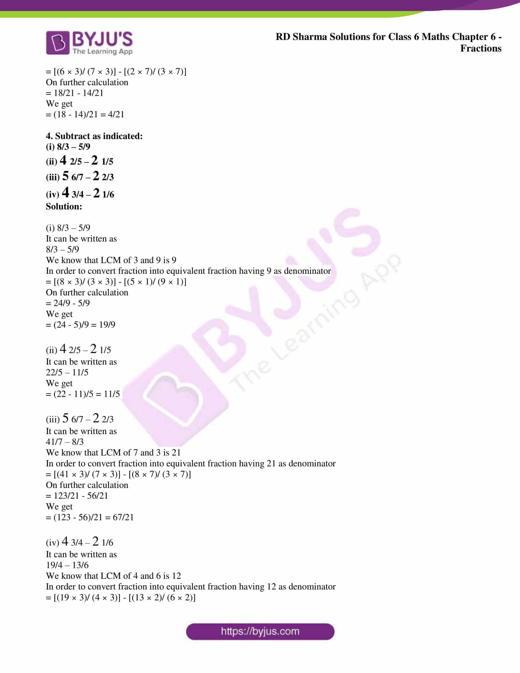 rd sharma class 6 maths solutions chapter 6 ex 9 4