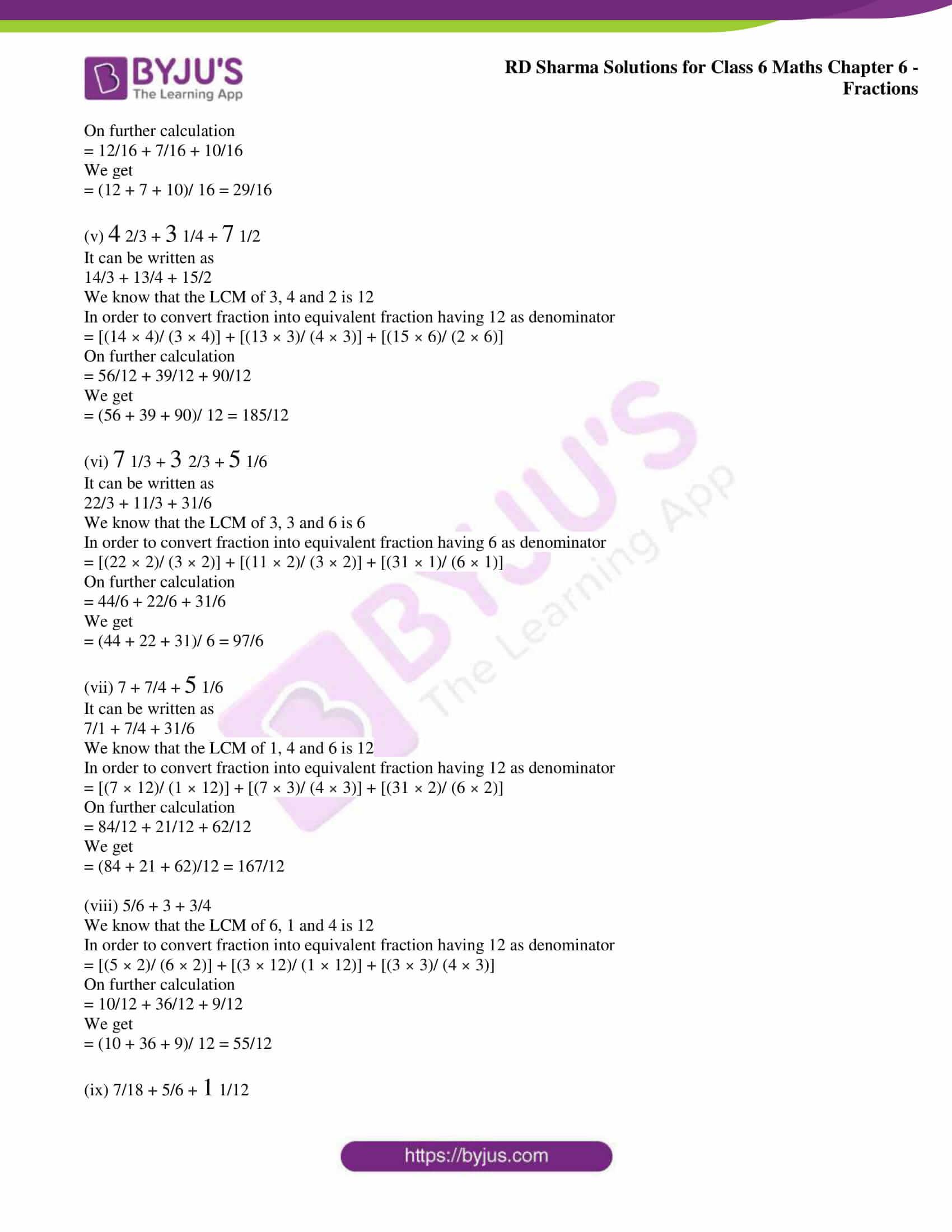 rd sharma class 6 maths solutions chapter 6 ex 9 6
