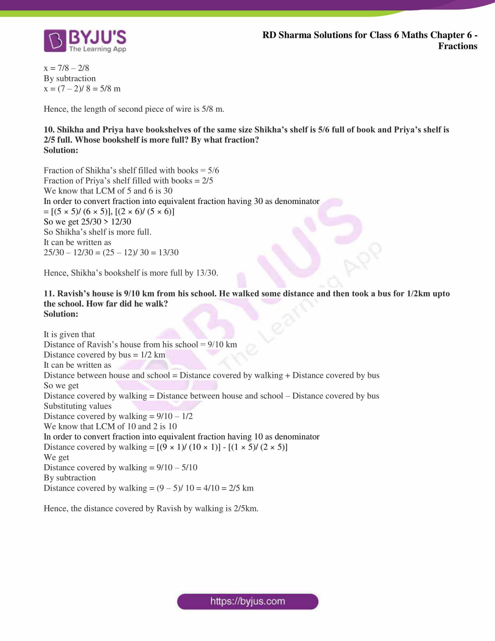 rd sharma class 6 maths solutions chapter 6 ex 9 9