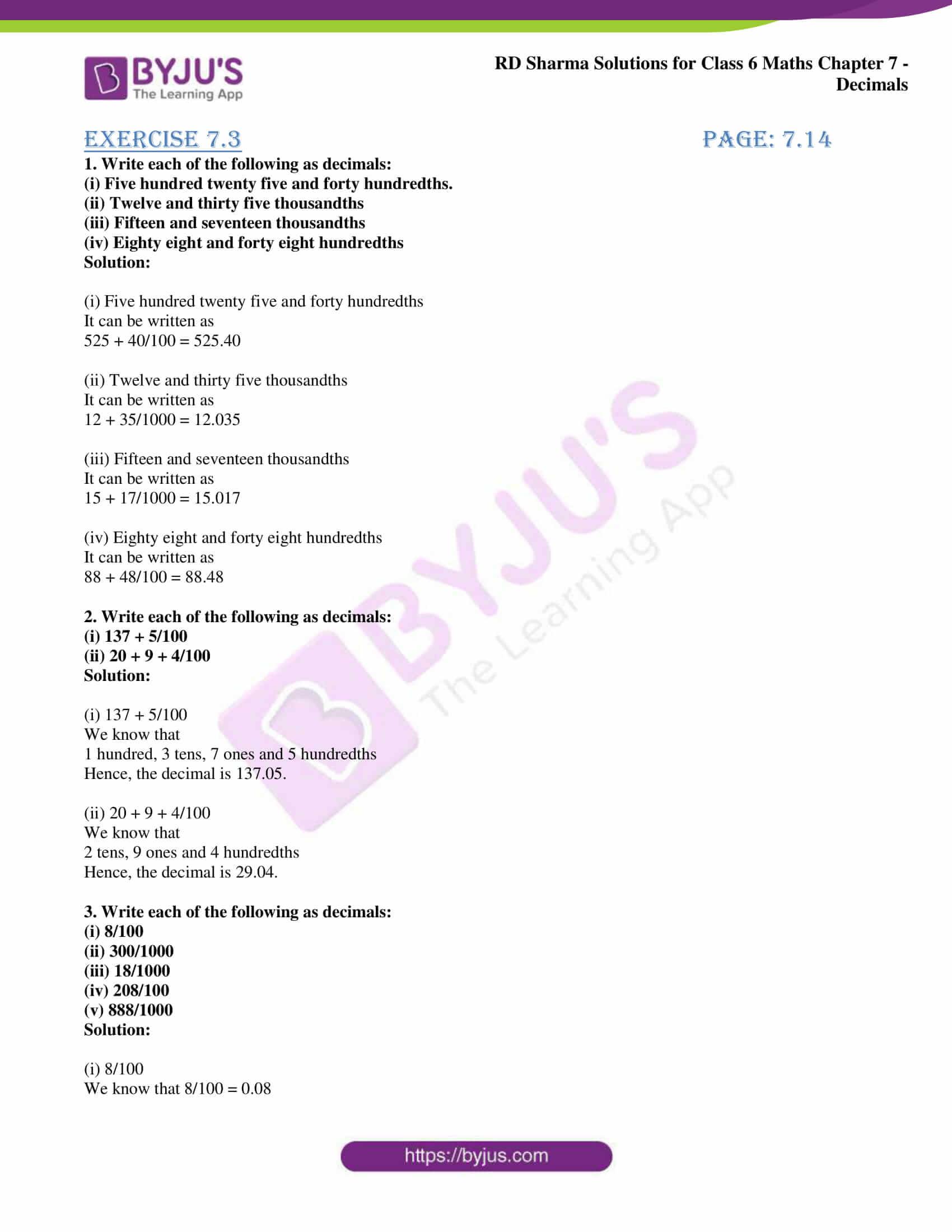 rd sharma class 6 maths solutions chapter 7 ex 3 1